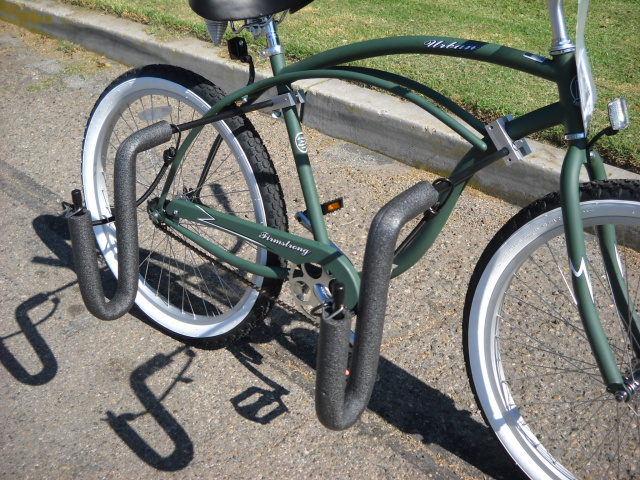 Side Ride Beach Cruiser Surf  Rack