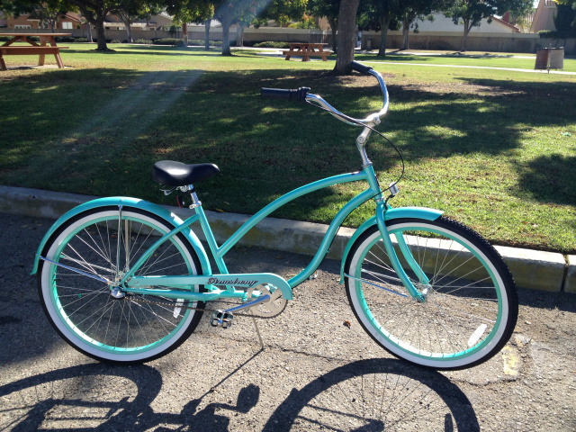 Firmstrong Chief Ladies Beach Cruiser Green